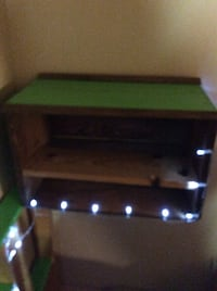 Handmade shelves and tables with or without lights. Made to order  New Westminster, V3L 1J7