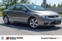 2008 Honda Civic Cpe EX-L LEATHER, BC CAR, SUNROOF, MANUAL TRANSMISSION