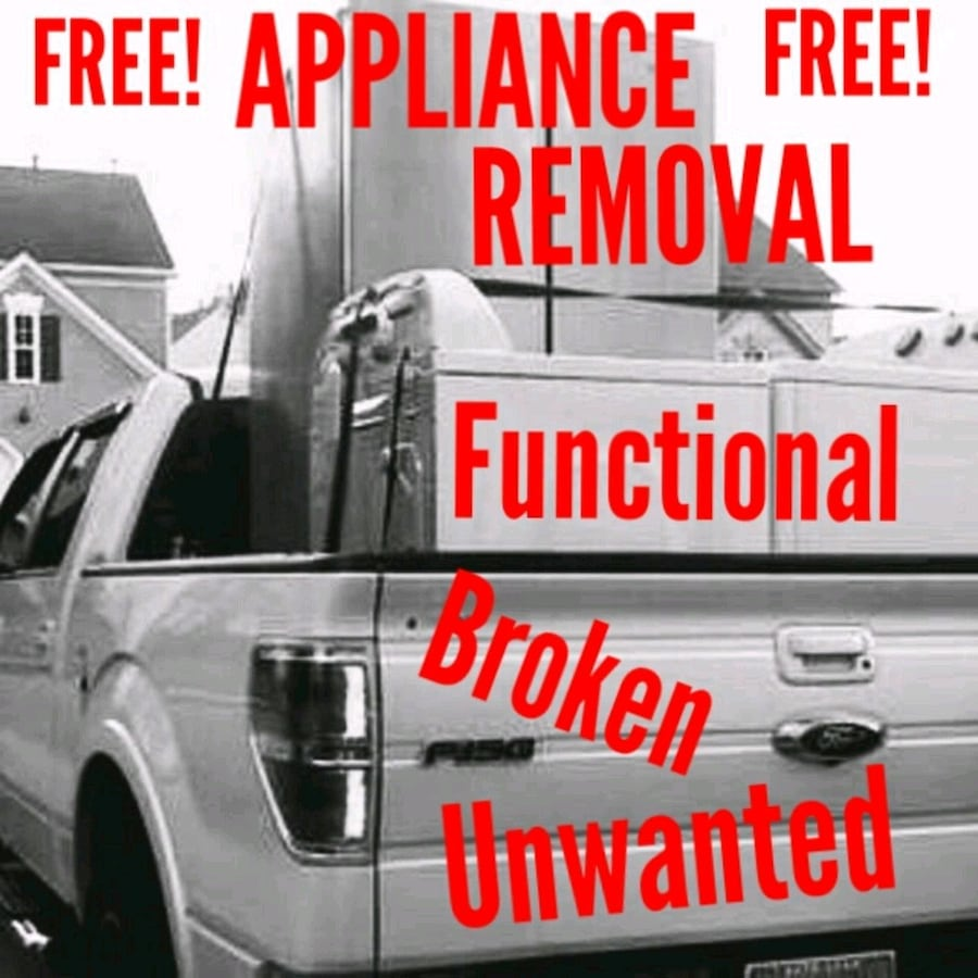 FREE Appliance Removal ** Broken ** Functional ** Unwanted