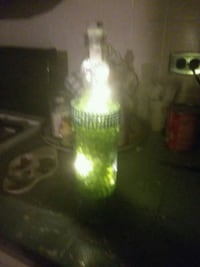 Glass bottle light Chambersburg, 17202