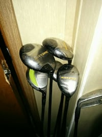 Set of calaway warbird drivers and irons Langley, V2Y 1Z9