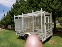 7 by 10 caged trailer  Slaton, 79364