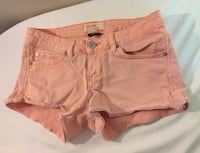 Small denim peach shorts size 3 Port Hope, L1A 2M5