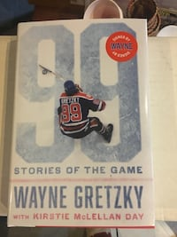 Wayne Gretzky auto book 99 stories of the game Niagara Falls, L2E 1Y9