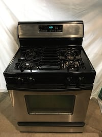 Stainless steel gas oven/range