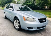 LOW Firm & Cheap :: Excellent Pearl Blue 2007 Hyundai Sonata Silver Spring