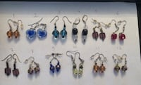 Brand New Italian murano earrings (price per pair) Toronto, M2R 3N1