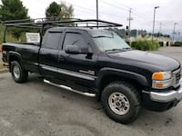 black Chevrolet Silverado extra cab pickup truck Burlington, 98233