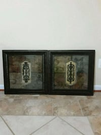 24x24 Pair of framed wall art Lorton, 22079