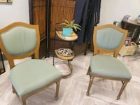 Green antique chairs set of 3 Henderson, 89015