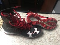 Under armour football cleats size 8 Johnstown, 15902