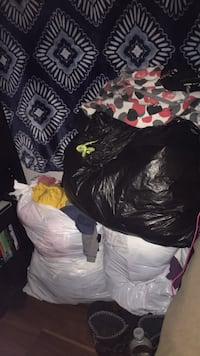 Teen girl summer clothes and some men jeans n dress shirts trash bag for 30$ located in kilgore Kilgore, 75662