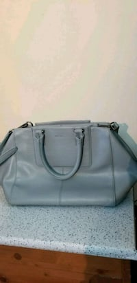 women's gray leather tote bag Vancouver, V5W 3A6