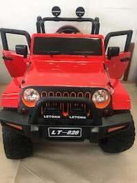 4x4 Kids ride on Jeeps with big rubber wheels 12v, RC Vaughan, L4L 8A1