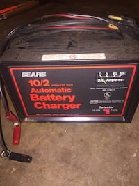 black Sears automatic battery charger Lower Merion, 19085