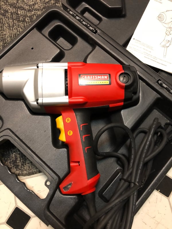 CRAFMAN PROFESSIONAL IMPACT WRENCH 0