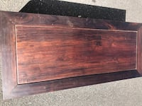Antique Teak coffee table and set of nesting tables Mt Laurel Township