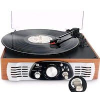 3-Speed Stereo Turntable with Built in Speakers Mississauga, L5C 3A5