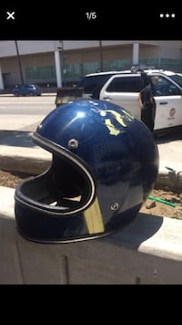 Vintage 1960s motorcycle helmet Los Angeles, 91601