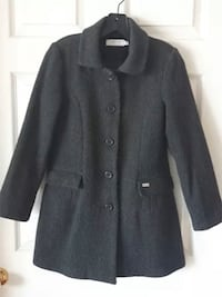 $175 GEOX Girls Coat 10y Classic Gray Wool Jacket Outerwear Lined King, L7B 1K5