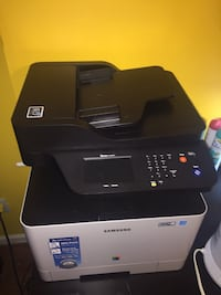 Black and gray hp desktop printer Woodbridge, 22192
