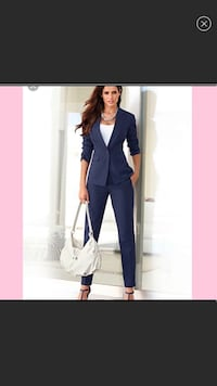 Women's navy blue suit size 6 Gainesville, 20155