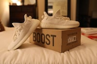 Pair of white adidas yeezy boost 350 Austin, 78704