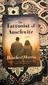 Book - The Tatooist  of Auschwitz Redwood City, 94063