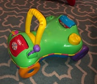 2-in-1 walker / ride on Playskool Step Start Walk 'n Ride Toy from Hasbro Unisex Infant to Baby to Toddler $10 Leander, 78641