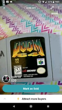 Doom n64 Citrus Heights, 95610