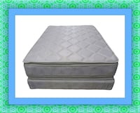 Pillowtop mattress with free box&shipping all size Ashburn, 20147