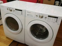 white front-load washer and dryer set Phoenix, 85019