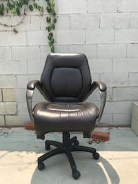 Desk chair. Very comfortable and in good condition besides a little wear. Outside and ready for pickup. Needs to go!  Los Angeles, 90065