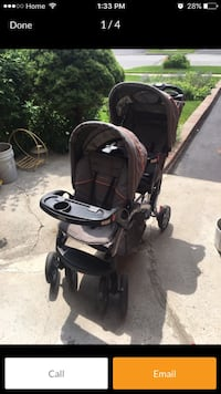 Baby trend sit & stand double stroller Toronto, M4B 1A9