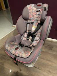 Britax gray and pink car seat carrier Germantown