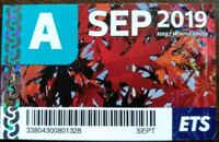 September Bus Pass Edmonton, T5A 2S6