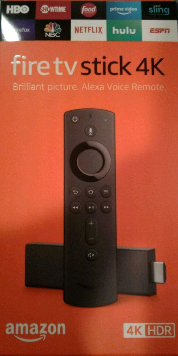 Fire tv stick 4k ,$80 new