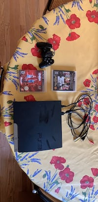 Ps3 Bundle (system, 2 games, chords, one wired controller) Washington, 20016