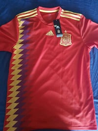 Spain 2018 World Cup official jersey  Louisville, 40208