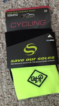 Cycling save our soles performance socks Fredericksburg, 22407