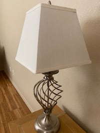 Twisted Cage Table Lamp