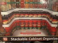 Stackable Cabinet Organizer. BED BATH BEYOND Washington, 20020