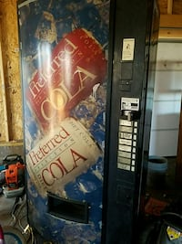 Drink/can vending machine