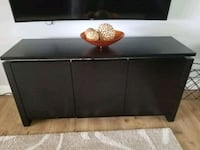 Brown armoire/ TV stand
