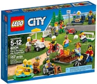 LEGO City 60134 Fun in the Park-People Pack İstasyon Mahallesi