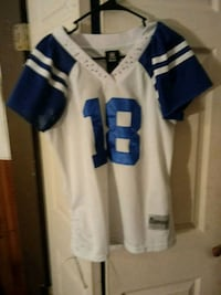 white and blue NFL jersey Evansville, 47710
