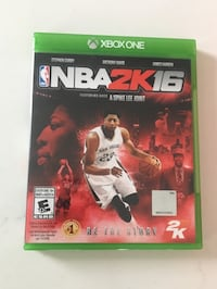 NBA 2k16 for Xbox One Whitby