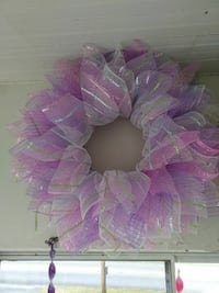 pink and purple floral wreath Hagerstown, 21740