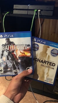 two Sony PS4 game cases Winnipeg, R2K 1Y5