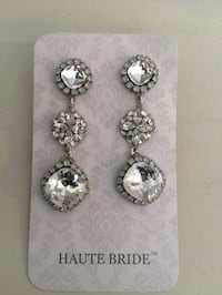 Haute Bride Crystal Drop Earrings  Apple Valley, 55124